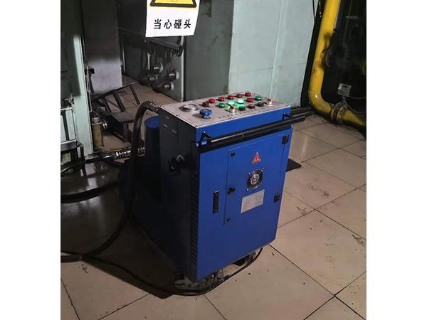 離心式凈油機現場安裝